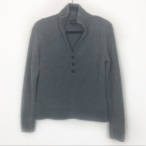 Sonoma Sweaters - 3/$15 Sonoma Gray Pull-Over Long Sleeves, size M